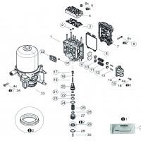 Jgo. Reparacion Para Valvula Protectora 93290