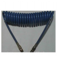 Caño Espiralado Para  Aire (azul) 1/4`-5/8`