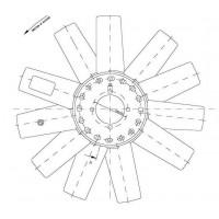 Hélice Dtro. 433 / 11 Aspas / Ccw // Motor: Internat Ngd 3.0 - Internat Ngd 3.0e - App: Ranger, Ranger 3.0- Reemplazada Por