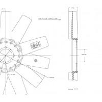 Helice Dtro. 455 / 11 Aspas / Cw // Motor Om 014 La - Sprinter 312