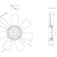 Helice Dtro. 560 / 7 Aspas / Cw