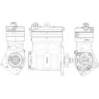 Compresor Bicilindrico M.benz Axor-om457- Ree