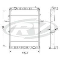 Radiador // Volkswagen 17-300/ 18-310 / 26-300 / 40-300   Oem - 2to.121.253.f / 2tg.121.253 / 2vt.121.253.a