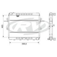 Radiador // Ford Cargo 8 Toneladas 914  Oem 2uh.121.253