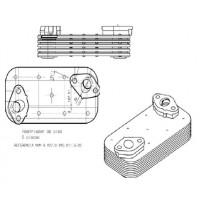 Radiador-aceite   Mwm / Gm  Sprinter - Motor