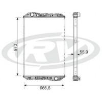 Radiador / Mercedes Benz/  Axor 2035 / 2540 /