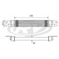 Radiador-aceite  / Mercedes Benz / Ls 1625 /