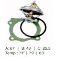 Valvula Termostatica - Mercedes Benz - Om 314