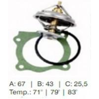 Valvula  Termostatica - Mercedes Benz - Om 36
