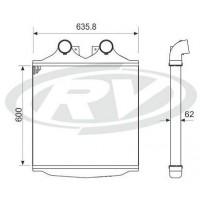 Intercooler  - Mercedes Benz /  Omnibus 2423