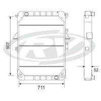 Radiador Mercedes Benz  Ls 1630 /  1633 / 193