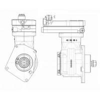Compresor Monocilindrico Brida Montada