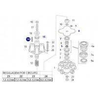Juego De Reparacion Completo // Válvula 4 Circuitos I76633 - I85982