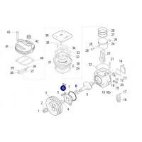 Tapa Delantera Con Buje // Para Compresor 75 Mm