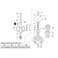 Juego De Reparacion De Valvula Protectora De 4 Circuitos