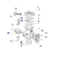 K0013890069 Juego De Reparacion De Compresor