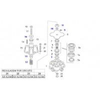 Kit Componentes  Válvula Protectora 4 Circuit