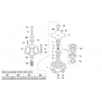 Kit Componentes  Válvula Protectora 4 Circuitos