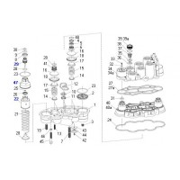 Kit De Componentes De Válvula 4 Circuitos Apu
