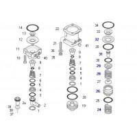 K004452 Kit Componentes De Valvula Pedalero M