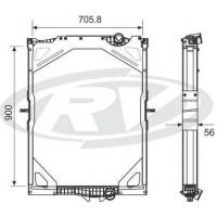 Radiador  - Volvo  / Fm 10 Globetrotter C / L