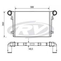 Intercooler - Agrale  / Chassis M. 8.5 / E Vo