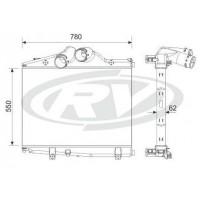 Intercooler  -  Mercedes Benz  / Atego 1725 /