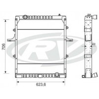 Radiador  - Volkswagen 12-170/ 15-170 / 17-21