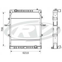 Radiador // Volkswagen 12-170/ 15-170 / 17-210 / 14-220 / 24-250   Oem - 2vg.121.253