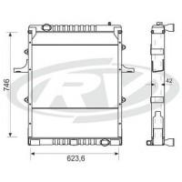 Radiador  - Volkswagen  13/15-170e / 13 / 15-