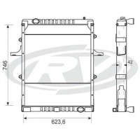 Radiador // Volkswagen  13/15-170e / 13 / 15- 180e / 15-190e  Oem - 2so.121.253.h