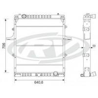 Radiador  Volkswagen 12-170 / 15-170 / 17-210