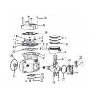 Tapa Compresor K004954r