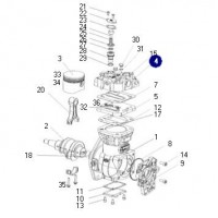 Tapa - Para Compresor K01837101