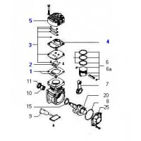 Tapa Completa Compresor Monocilindrico Kacx68