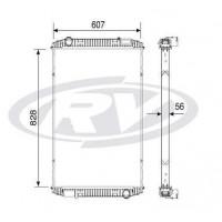 Radiador - Ford - Cargo 1722e / 2422e / 2428e