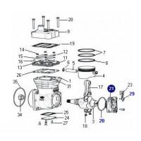 Juego De Reparación Soporte De La Bomba // Reparación Para Compresor Mercedes Benz (sin Engranaje)