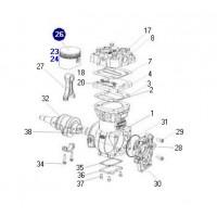 Seb015940069  Piston Completo
