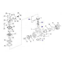 Juego De Reparacion (piston/biela) Para 9111535480/9111535520