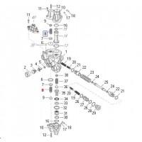 Resorte Para Valvula Protectora 4 Circuitos 934 705 002 0/884 502 847 0/884 503 144 0