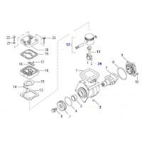 Juego De Reparacion (piston/biela) Compresor 4115530000/40-9111530010