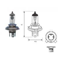 Lamp. H4 12v 60/55w