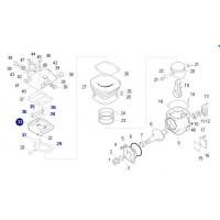 Entretapa De Compresor 88mm // Mercedes Benz