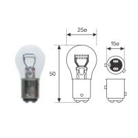 Lamp. P21 12v 4w 2stándar