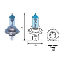 Lamp. H4 12v- 60/55 W-bl