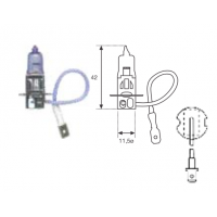 Lampara H3-24v -70w-standar