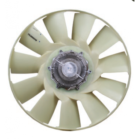 Conjunto Hélice-viscosa -s600 // Motor Om 366la/ 904la - App: Oh1520, Ho1420, Ohl 1523, Ohl 1559, Ohl 1621, Ohl 1652, Oh1115