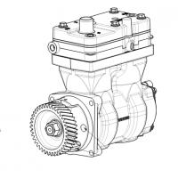 Compresor De Aire Bicilindrico / Mercedes Benz (sustituido Por 9125100050)