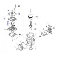 Kit Tapa Y Entretapa Para Compresor 4111540050