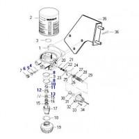 Rep. Secador Volkswagen 432 410 0140/ 0150/ 0160/ 0170/ 0640/ 0960/ 0970/ 0980/ 0990/ 1420